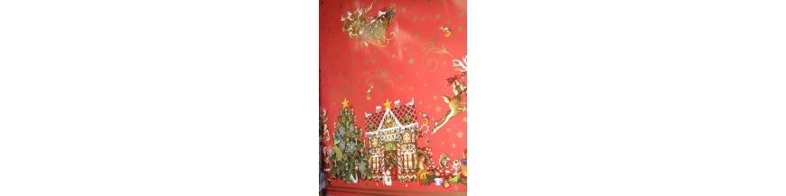 PVC obrus metráž Vianočné
