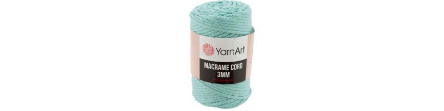 YarnArt Macrame cord 3mm,250g