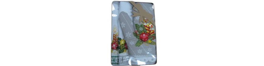 Chňapka kuchynská motív Vianoce