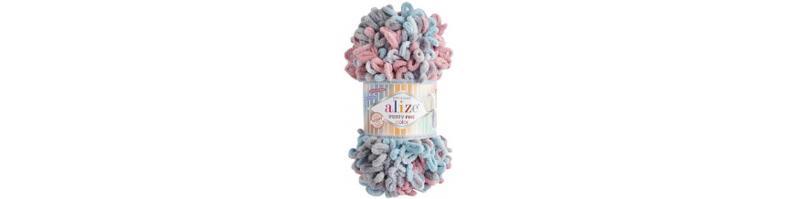 Alize Puffy fine color 100g
